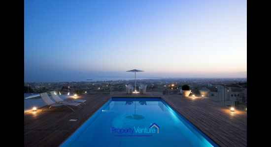 Sea view Limassol Villa