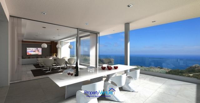 Villa-superior sea views