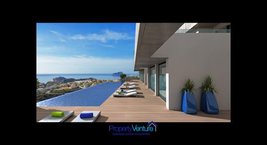 Mediterranean Seaview Penthouse Apartment Spain