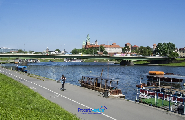 Vistula or Wisla, riverside located investment apartments