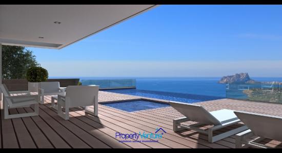 Bespoke modern Costa Blanca Villa