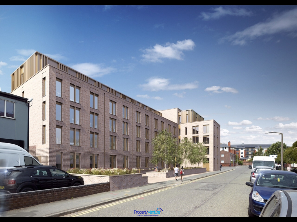 City-centre Chester Student pad