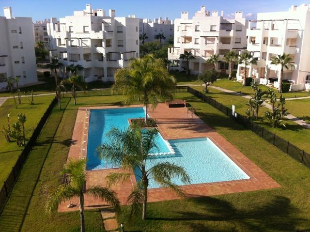 Coastal golf apartments in Spain