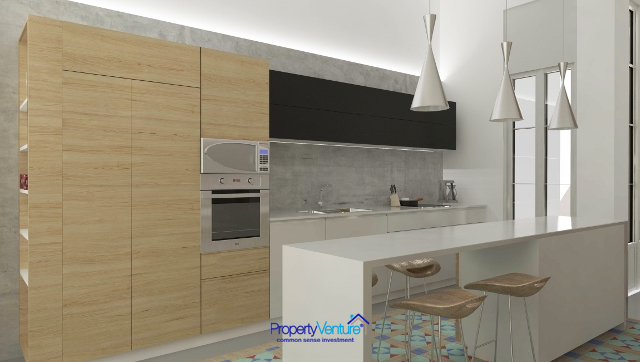 Modern fitted-out apartment Barcelona