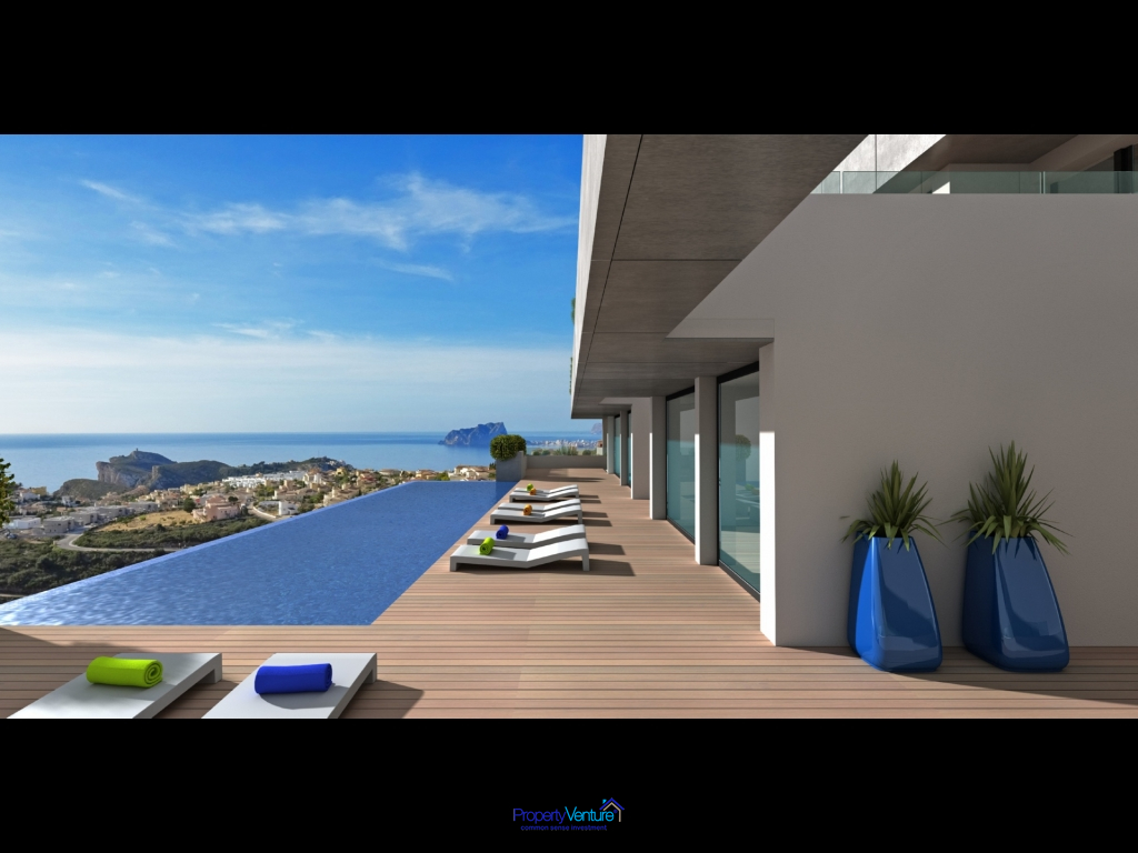 Mediterranean seaview penthouse apartment, Northern Costa Blanca