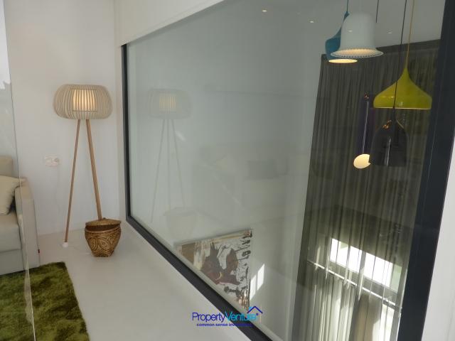 Modern two-tiered living area, Orihuela, Spain