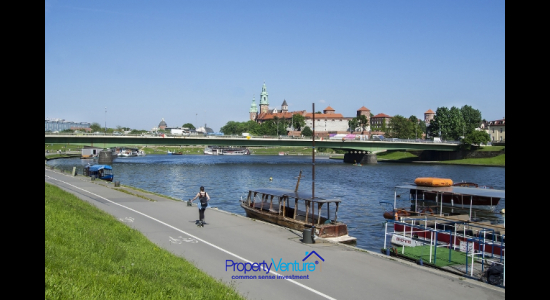 Invest Vistula Riverside Krakow Apartment