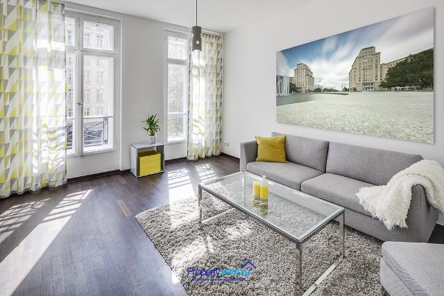 Ready-tenanted Berlin apartment