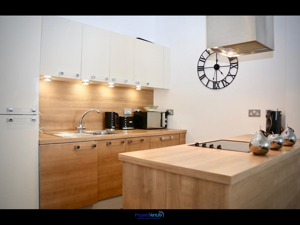 Modern Liverpool investment apartment