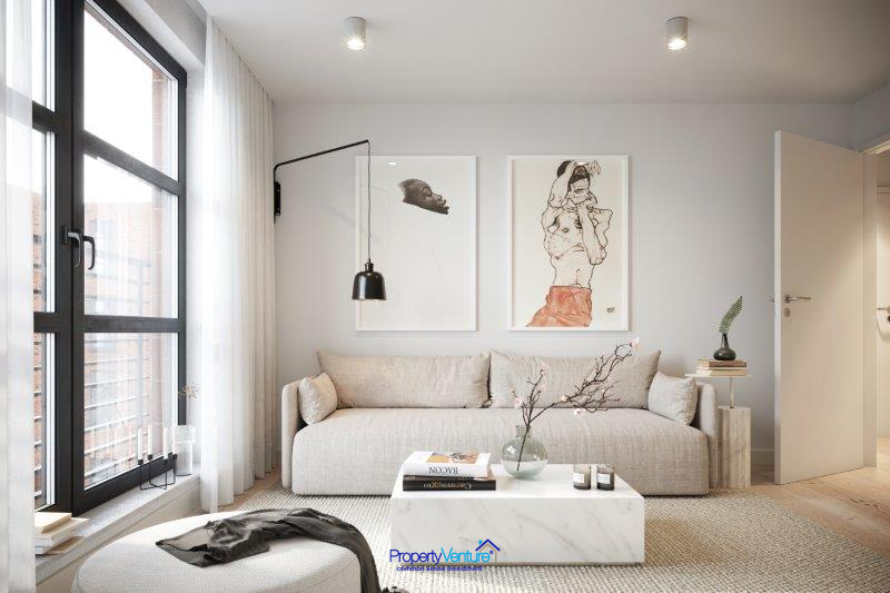 Birmingham buy-to-let living area